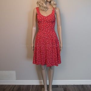 Subtle Red Disney Summer Dress
